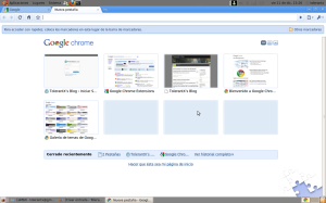 Google Chrome Beta en Ubuntu 9.10